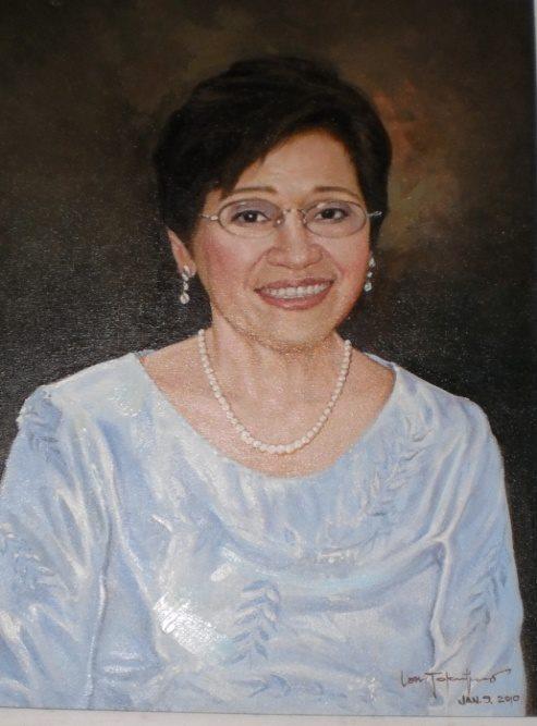 Dr. Benita S. Yap, Ed.D.Portrait by Lan Tolentino