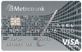 Platinum Travel card Visa 278x177px